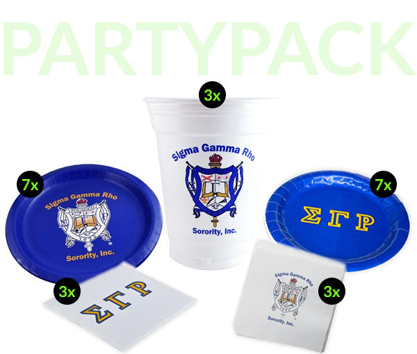 SGR Party Pack - White Cups Bundle