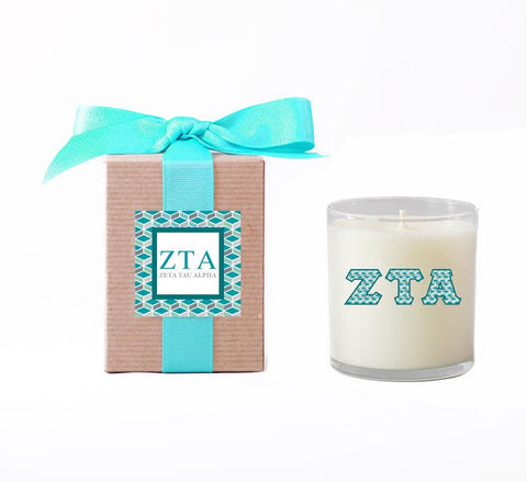 ZTA Greek Candle (Shipping Included)