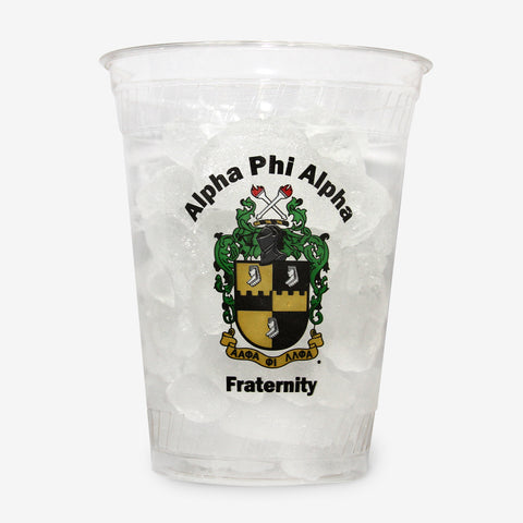 APA 16 oz Clear Plastic Cup (24ct)