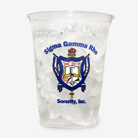 SGR 16 oz Clear Plastic Cup (24ct)
