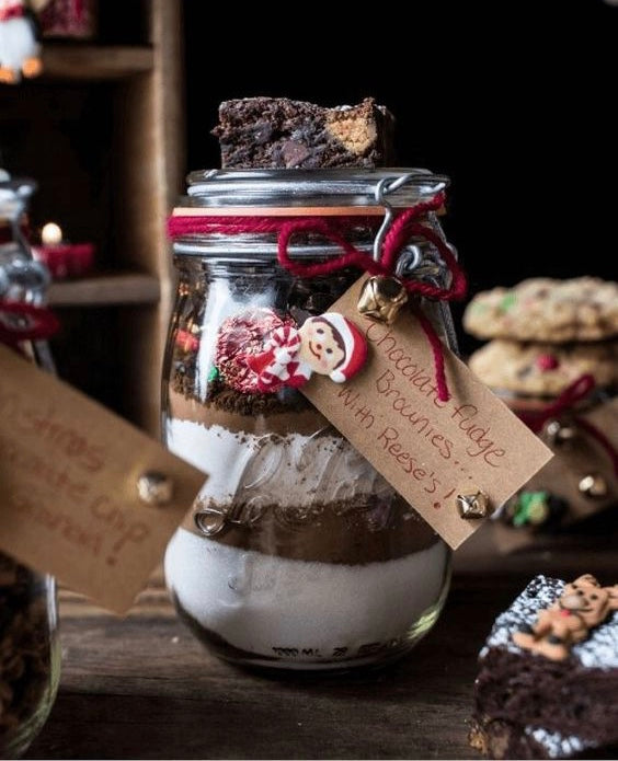 🎄 CHRISTMAS BAKING JARS 🎄