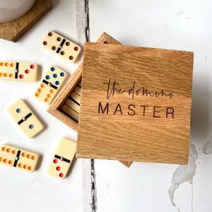 Domino Master Games Set (unpersonalised)