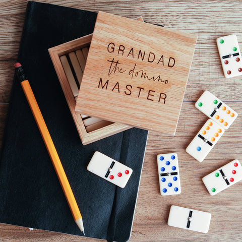 Personalised Domino Master Gift Box