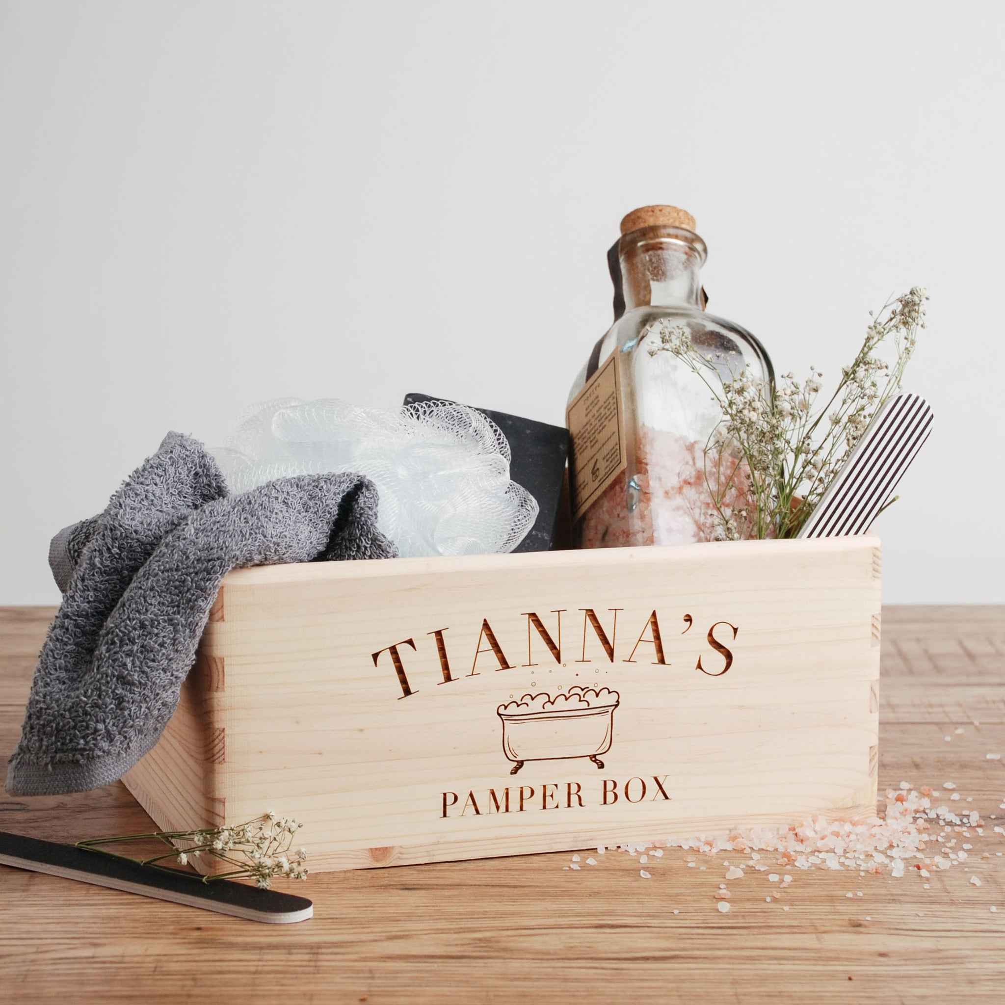 Personalised Pamper Box for Her
