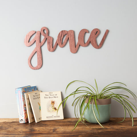 Personalised Name Wall Art