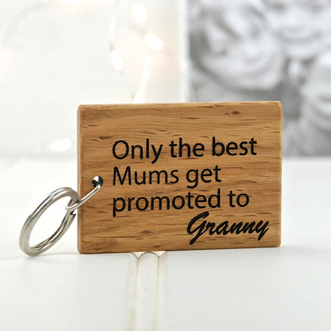 Personalised Only The Best Mums…Keyring