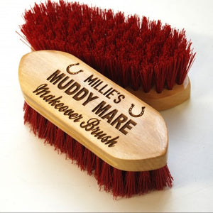 Personalised Muddy Mare Dandy Brush
