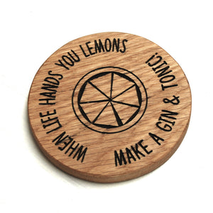 Make A Gin And Tonic Coaster