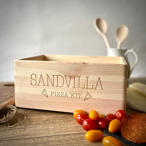 Personalised Pizza Kit Box