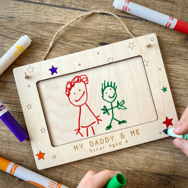 Personalised Decorate Your Own Picture Frame