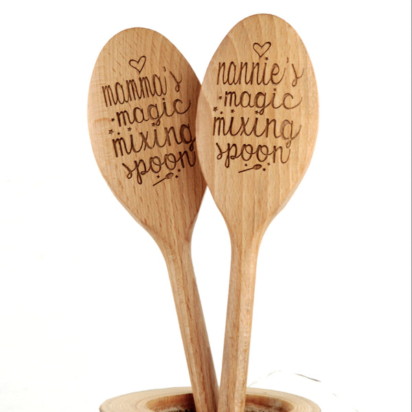 Personalised Magic Mixing Baking Spoon