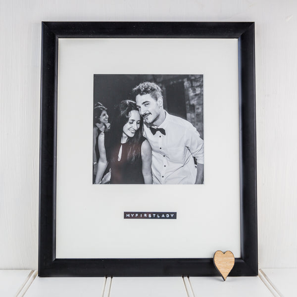 Personalised Retro Inspired Picture Frame