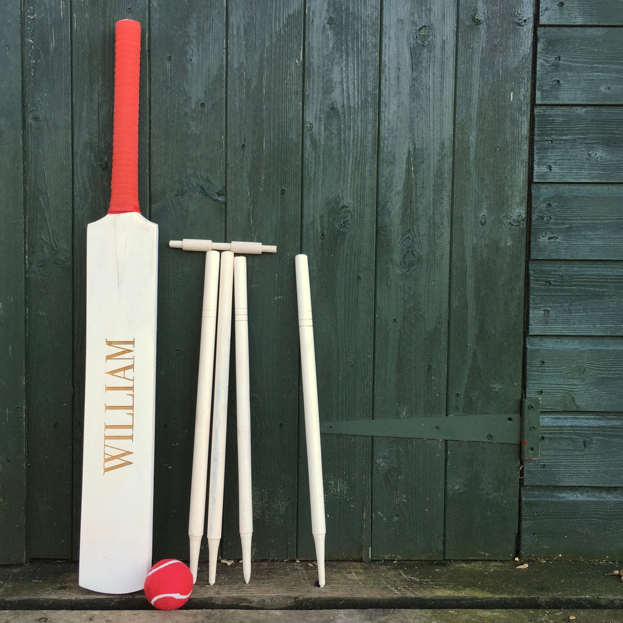 Personalised Children Cricket Set