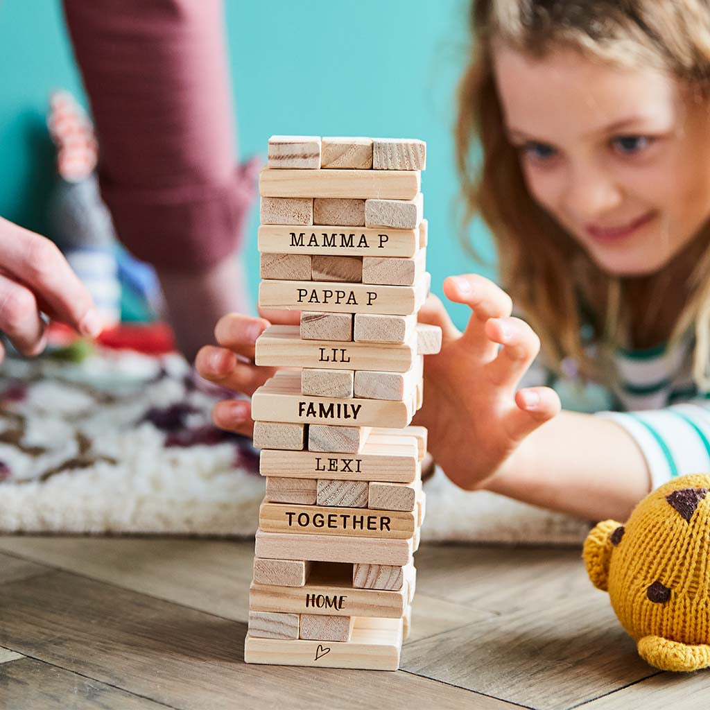 Personalised Family Stacking Tower