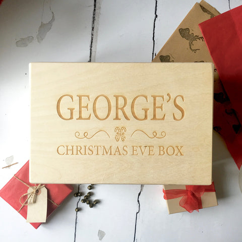 Personalised Original Christmas Eve Box