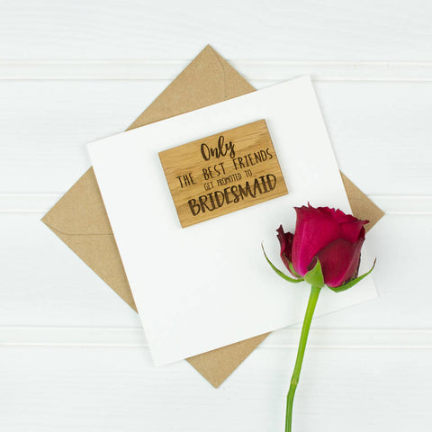 Personalised Be My Godparent Magnet Card
