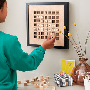 Wooden Family Message Board