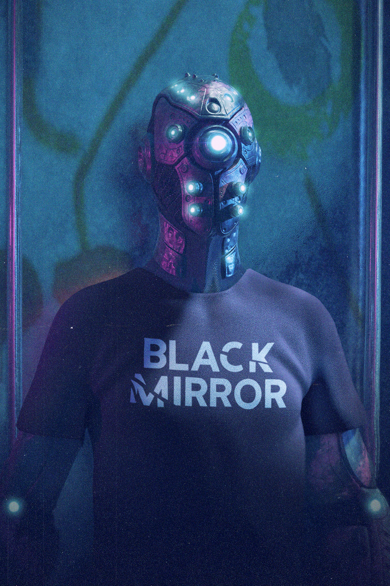 T-Shirt - Black Mirror