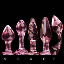 Load image into Gallery viewer, Erotic Crystal Pyrex Glass Bead, Butt Plug Sex Toys For Women Men To Prostate Massager Masturbation