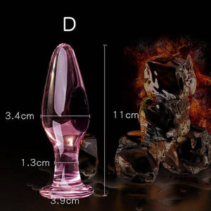 Erotic Crystal Pyrex Glass Bead, Butt Plug Sex Toys For Women Men To Prostate Massager Masturbation