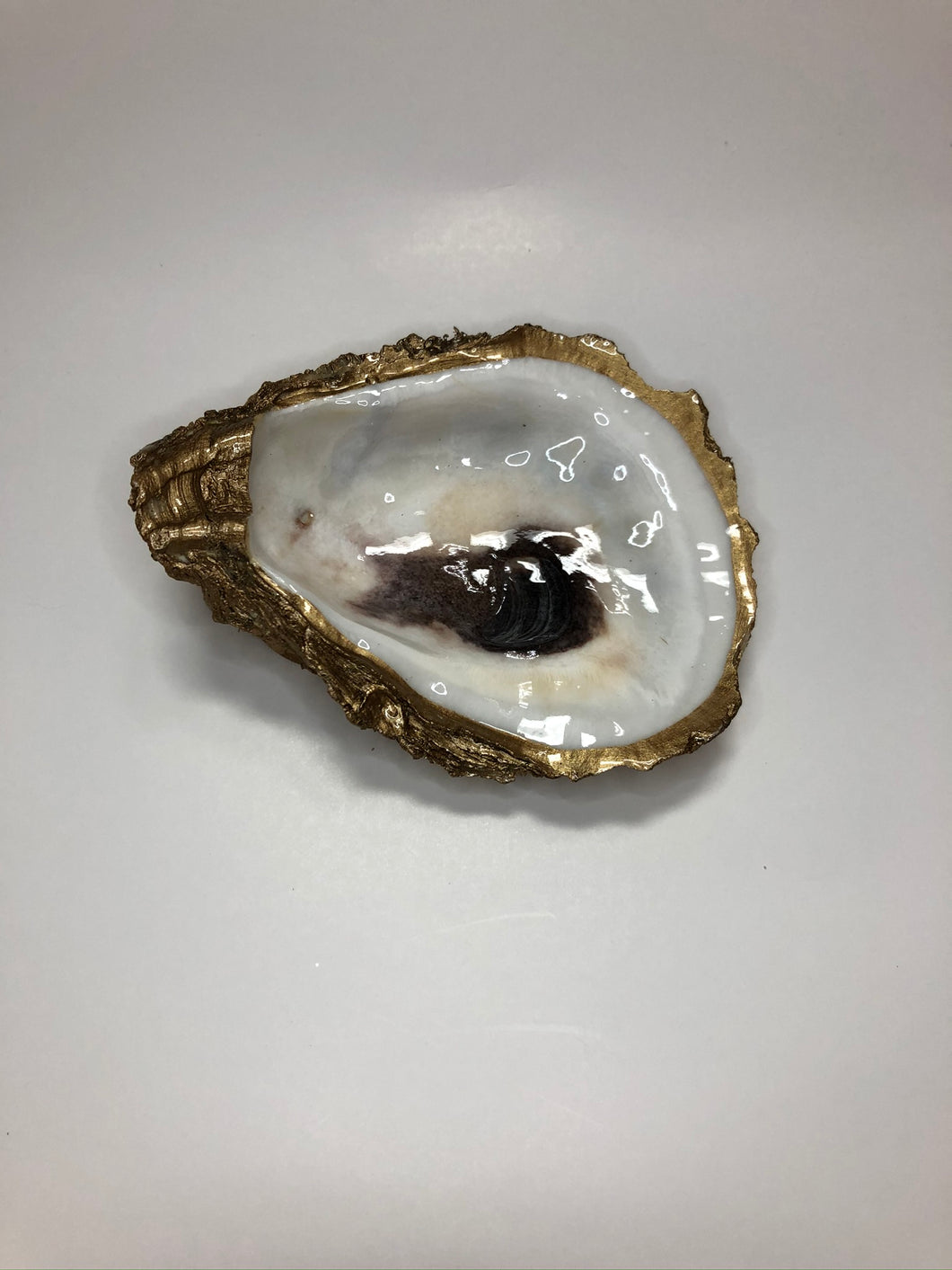 Hand-painted Oyster Shell