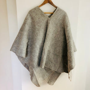 Light Grey Colombian Poncho