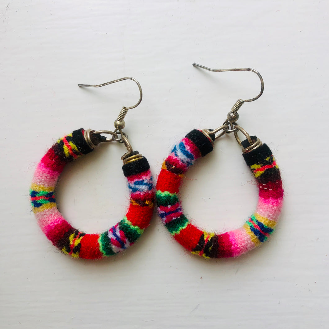 Small Multi Colour Earrings
