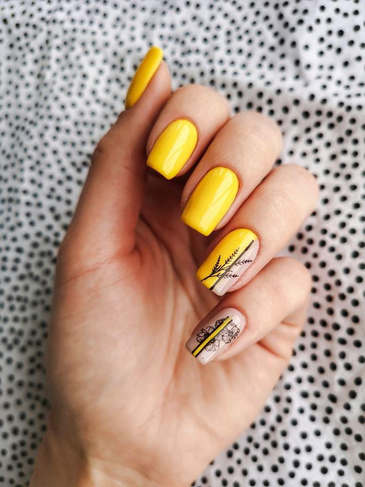 "Gēla nagu laka ""Sincero Salon"", 6ml, Vibrant yellow, 3716"