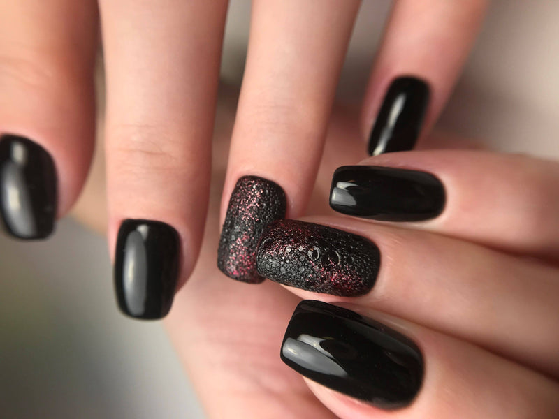 "Gēla nagu laka ""Sincero Salon"", 6ml, Black shadow, 657"