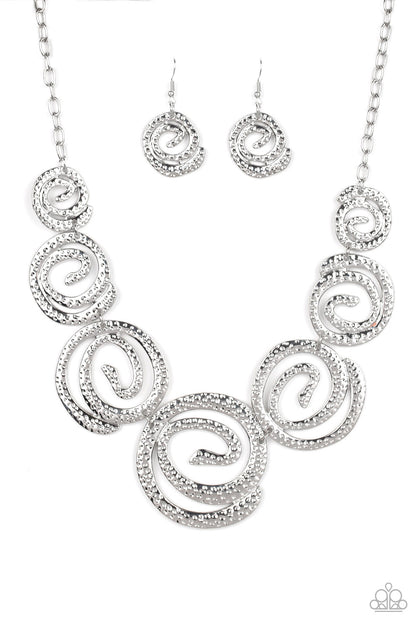 Statement Swirl - Silver