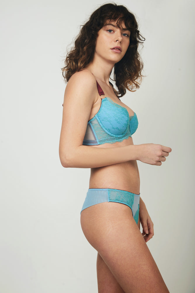 Load image into Gallery viewer, EBBA HALF-PAD UNDERWIRED BRA
