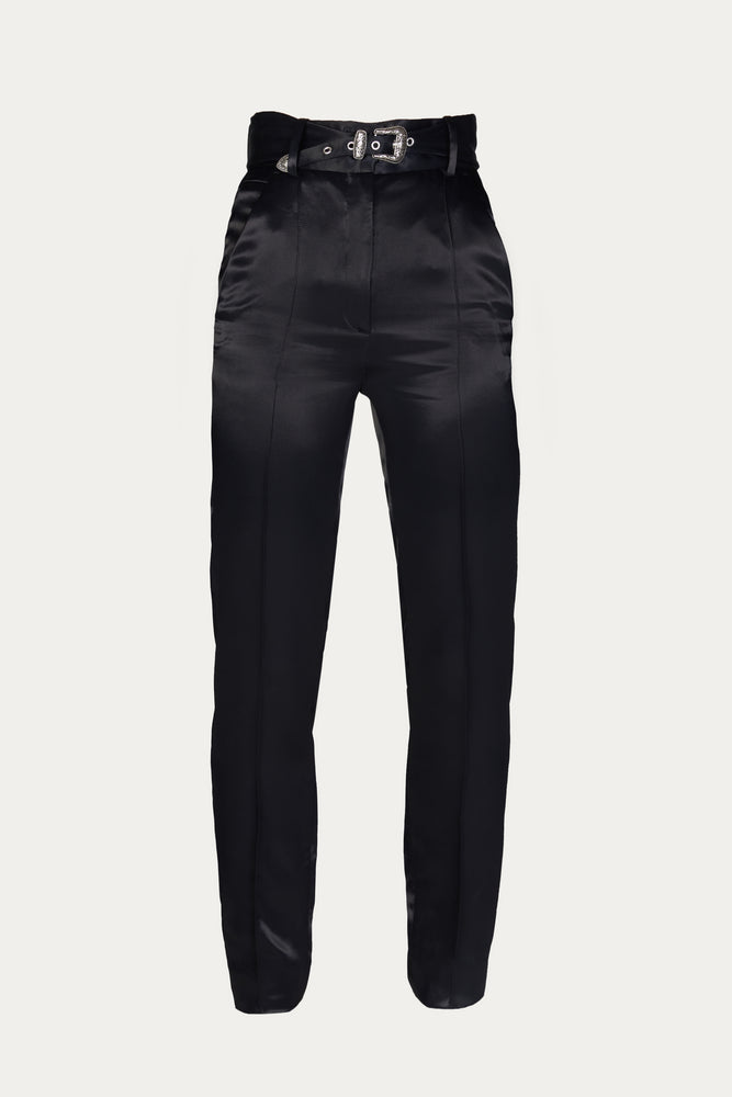 Load image into Gallery viewer, THE KOOPLES - FITTED SATIN PANTS