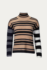 _GetTheLook, _related:the-danielle, cashmere, Clothing, naadam, shirt, Shirts, stripped, sweater, Sweaters & Knits, top, tops, turtleneck