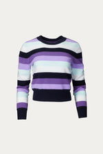 _GetTheLook, _related:The-Danielle, cashmere, Clothing, crew neck, naadam, shirt, Shirts, striped, sweater, Sweaters & Knits, top, Tops