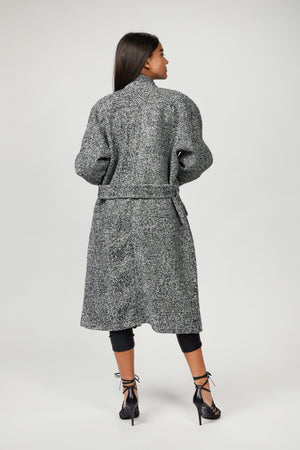 Load image into Gallery viewer, The Kooples - WOOL COAT WITH HIGH NECK