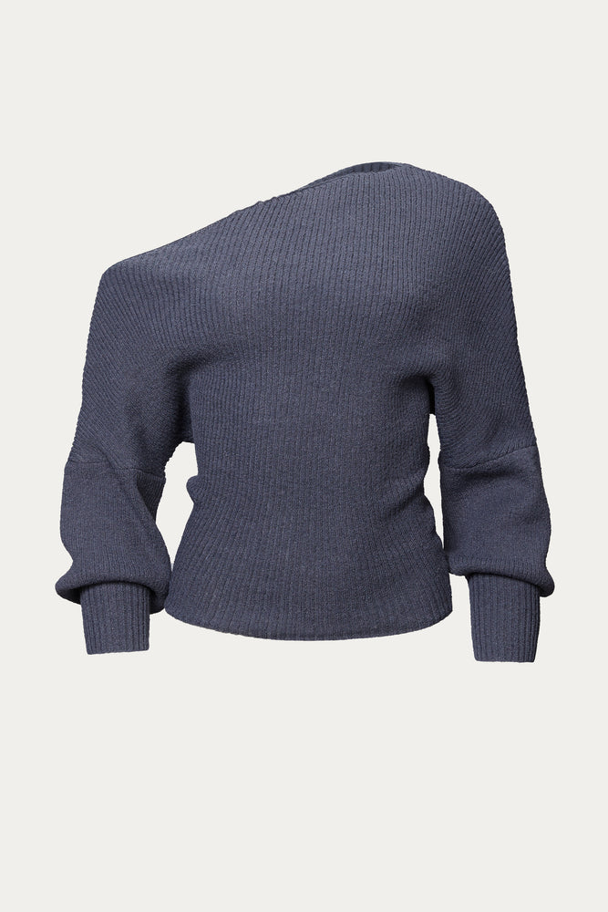 THE LINE BY K - LEON OFF-SHOULDER SWEATER