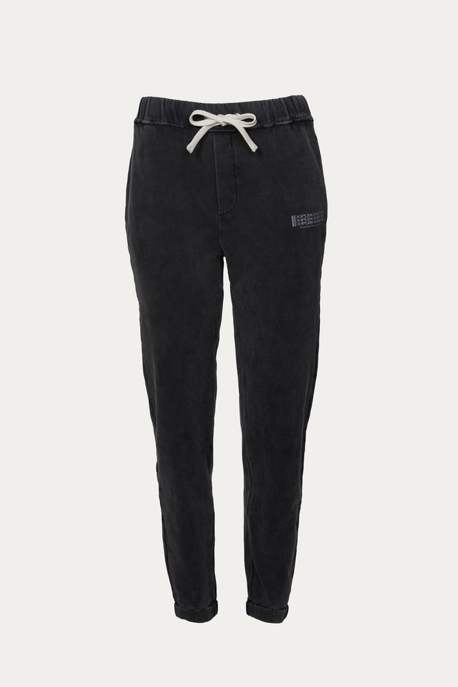THE KOOPLES - FADED BLACK JOGGERS