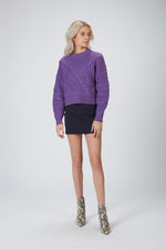NAADAM - CABLE CREWNECK SWEATER