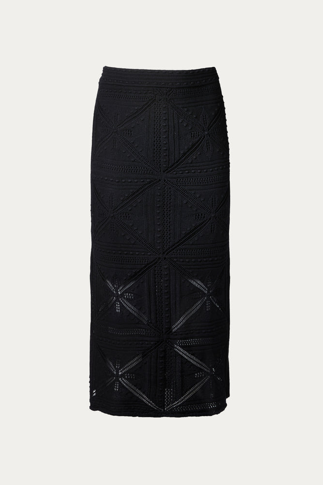 black, Clothing, cotton, New Arrivals, Rebecca Taylor, Skirt, Skirts