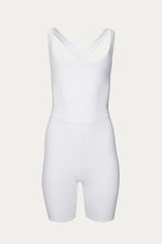 Activewear & Loungewear, Clothing, elastane, Héros, New Arrivals, polyamide, Time to Train, unitard, white