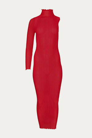 Load image into Gallery viewer, Boyarovskaya, Clothing, dress, Dresses, mako cotton, New Arrivals, polyamide, red