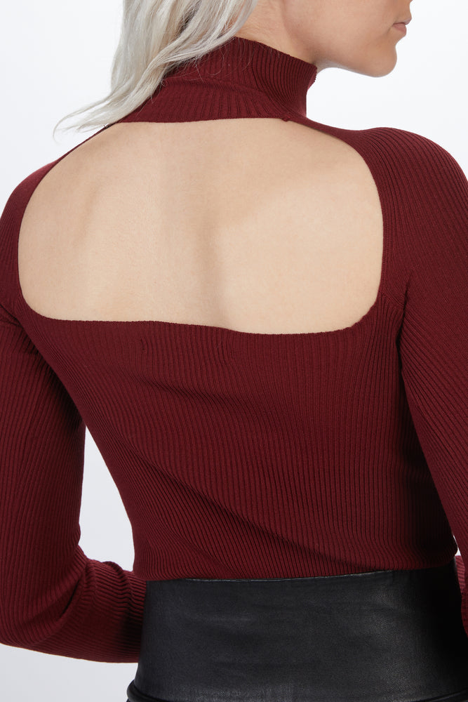 Load image into Gallery viewer, ZEYNEP ARCAY - OPEN BACK KNIT BODYSUIT