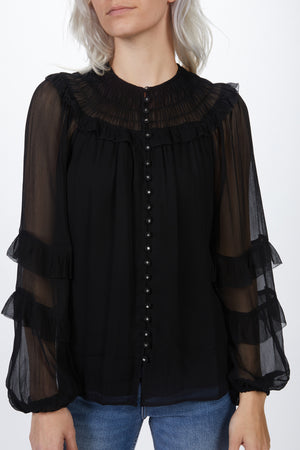 Load image into Gallery viewer, THE KOOPLES - RENAISSANCE SMOCKED SHIRT