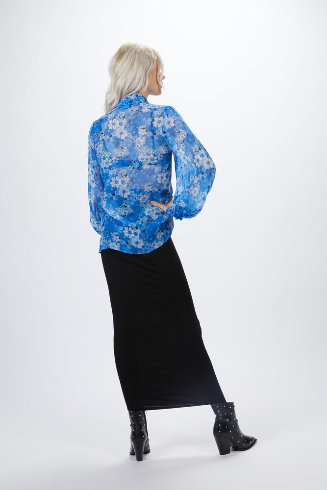Load image into Gallery viewer, THE KOOPLES - FLORAL MOTIF BLOUSE
