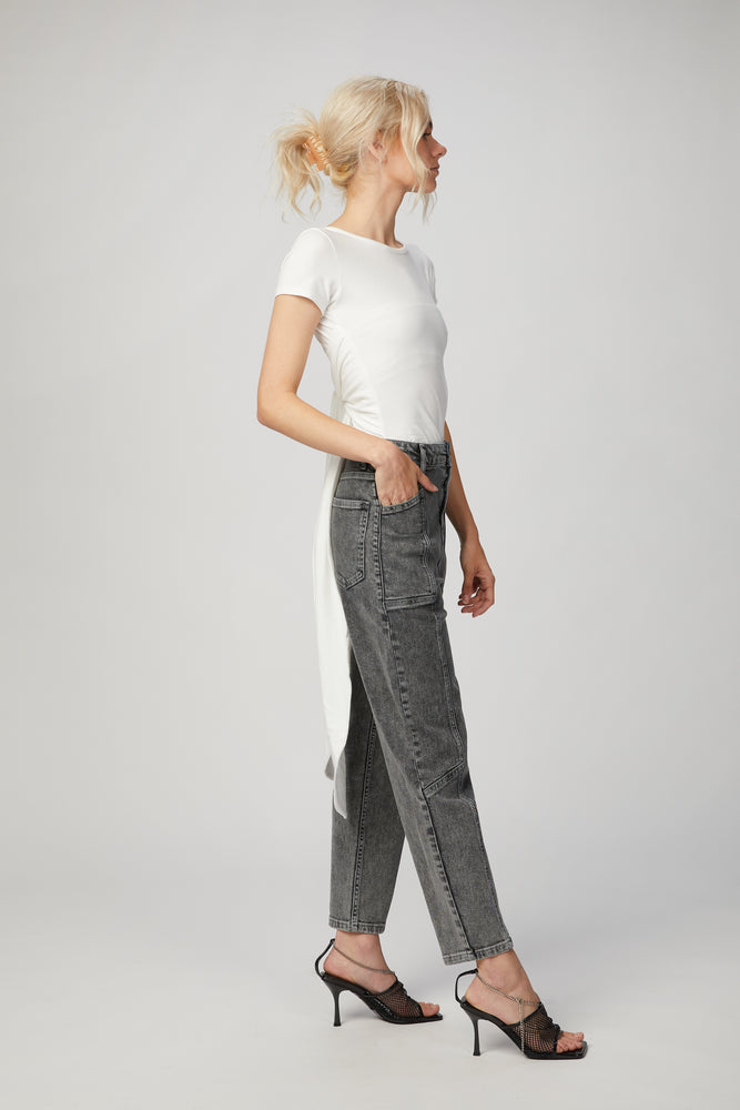 Load image into Gallery viewer, THE LINE BY K - JEANNE WRAP TOP