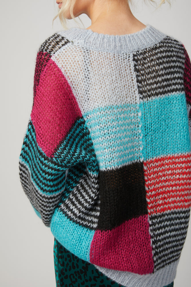 Load image into Gallery viewer, STINE GOYA - SANA MULTICOLOR SWEATER