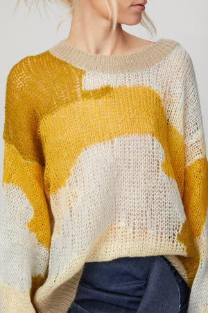 Load image into Gallery viewer, STINE GOYA - SANA CAMOUFLAGE SWEATER