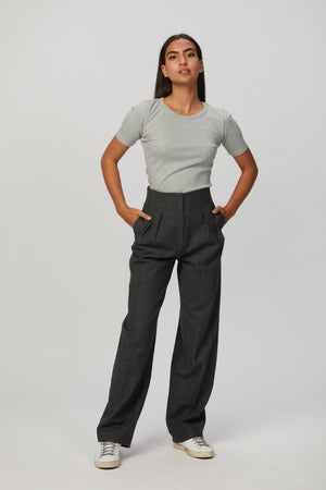 Load image into Gallery viewer, In The Mood For Love Clyde Herringbone Pants - Order Today