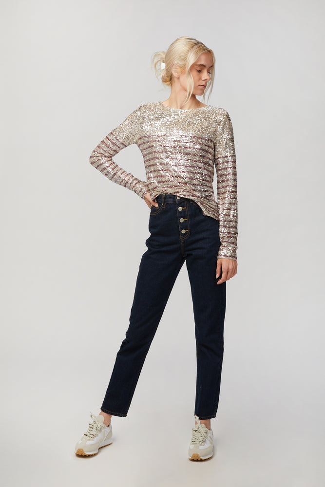 In The Mood For Love Elise Top - Shop Long Sleeved Tops