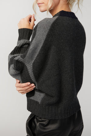 Load image into Gallery viewer, NAADAM - LUXE CASHMERE CROPPED CREWNECK SWEATER